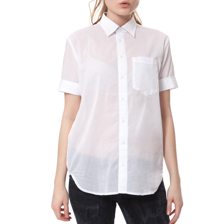 b6f5dc3c35dc G-STAR - Γυναικείο πουκάμισο G-STAR RAW λευκό ⋆ pressmedoll.gr