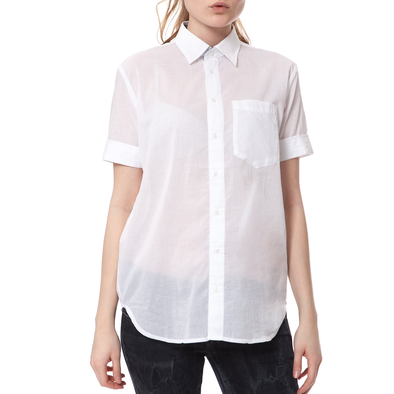240755247156 G-STAR - Γυναικείο πουκάμισο G-STAR RAW λευκό