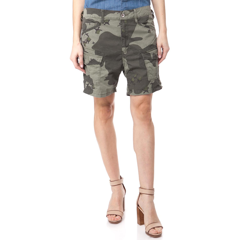 G-STAR - Γυναικεία βερμούδα G-STAR RAW χακί γυναικεία ρούχα σορτς βερμούδες casual jean
