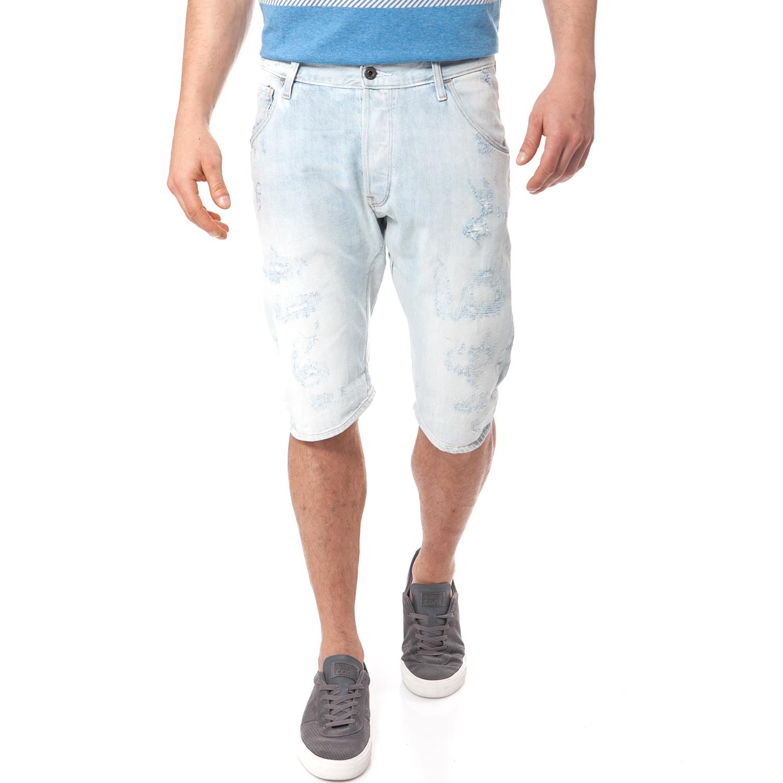 G-STAR RAW - Ανδρική τζιν βερμούδα G-Star Raw μπλε ανδρικά ρούχα σορτς βερμούδες casual jean