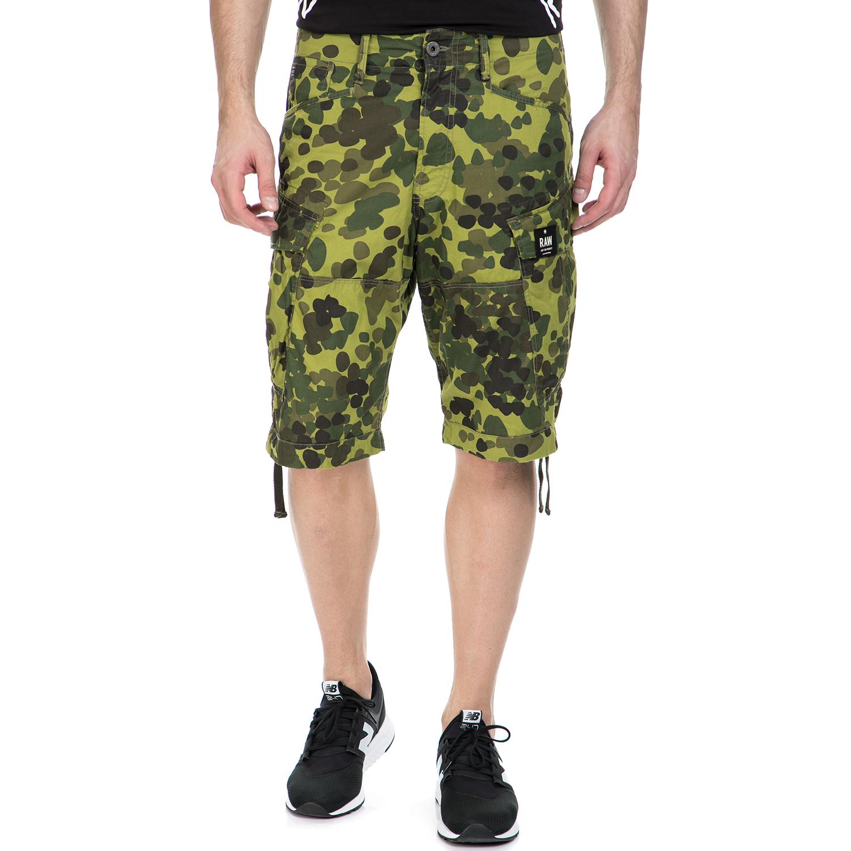 G-STAR RAW - Ανδρική βερμούδα G-Star Raw Rovic loose 1/2 πράσινη ανδρικά ρούχα σορτς βερμούδες casual jean