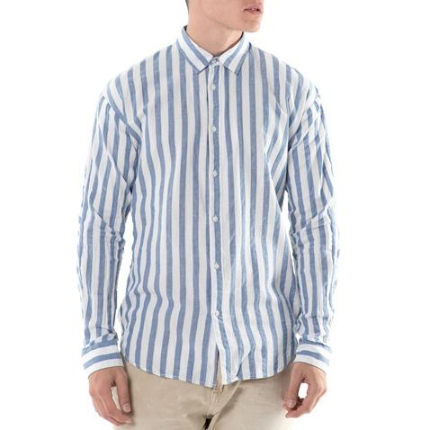 c543a9007d80 SCOTCH   SODA-Ανδρικό μακρυμάνικο πουκάμισο Scotch   Soda Fresh summer ριγέ