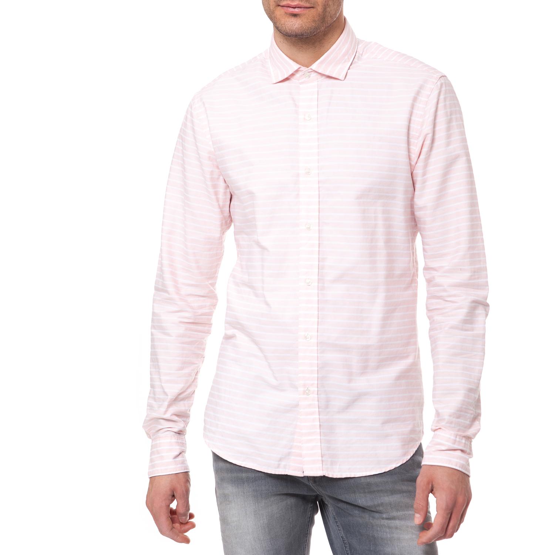 605db7ee780c SCOTCH   SODA - Ανδρικό πουκάμισο Scotch   Soda ροζ