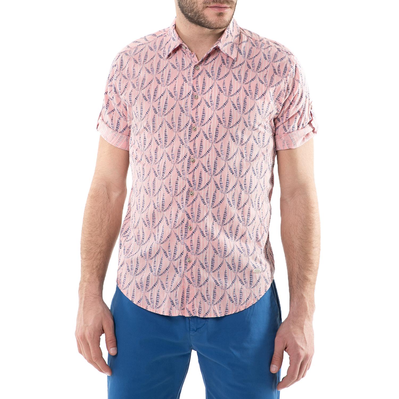 424943117f9f SCOTCH   SODA - Ανδρικό κοντομάνικο πουκάμισο Scotch ...