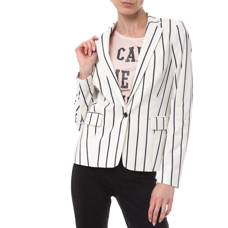 SCOTCH & SODA - Γυναικείο σακάκι Maison Scotch ριγέ γυναικεία ρούχα πανωφόρια σακάκια
