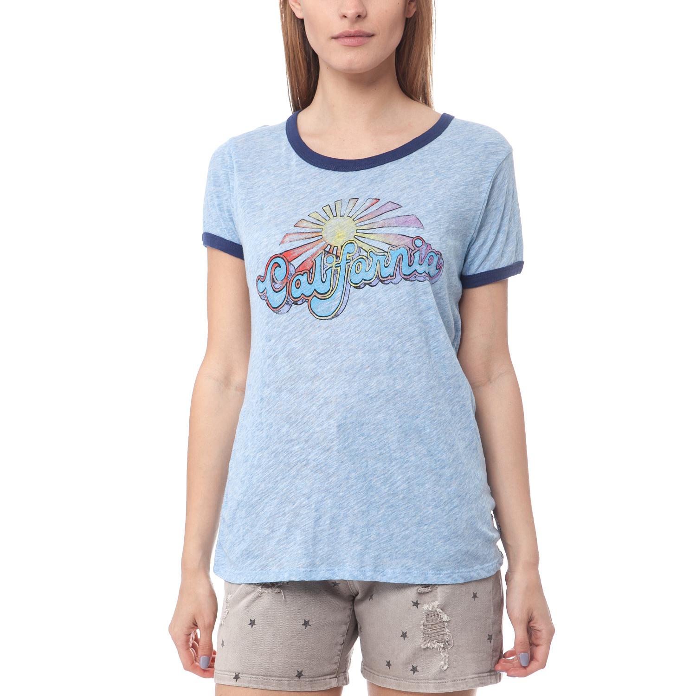 12e340fd02aa SCOTCH SODA Γυναικείο T Shirt Maison Scotch γαλάζιο γυναικεία ρούχα ...