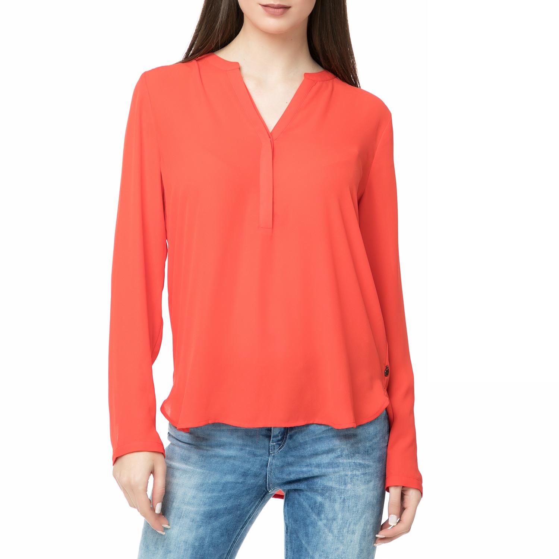 SCOTCH & SODA – Γυναικεία πουκαμίσα Scotch & Soda κόκκινη
