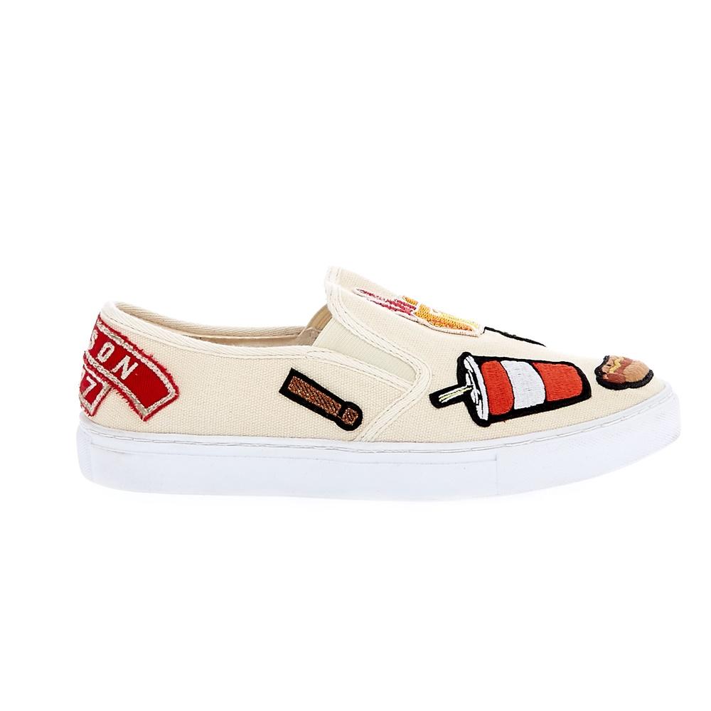 SCOTCH & SODA – Γυνακεία slip-on παπούτσια SCOTCH & SODA μπεζ-ροζ