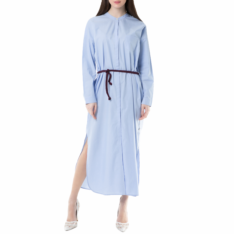 SCOTCH & SODA - Μάξι φόρεμα SCOTCH & SODA γαλάζιο γυναικεία ρούχα φορέματα μάξι