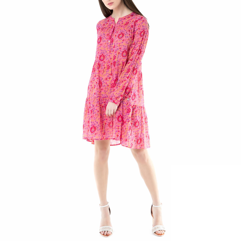 823d7555b3c7 SCOTCH   SODA - Φόρεμα SCOTCH   SODA ροζ με φλοράλ μοτίβο
