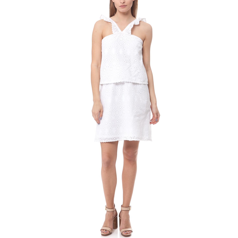 SCOTCH & SODA - Φόρεμα Maison Scotch λευκό