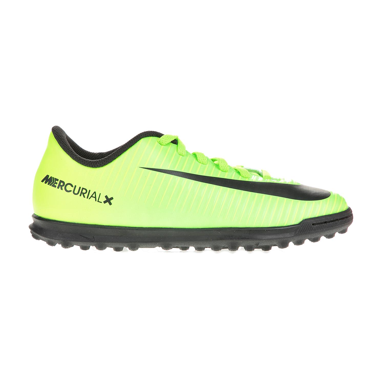 NIKE - Αγορίστικα παπούτσια ποδοσφαίρου JR MERCURIALX VORTEX III TF πράσινα παιδικά boys παπούτσια ποδοσφαιρικά