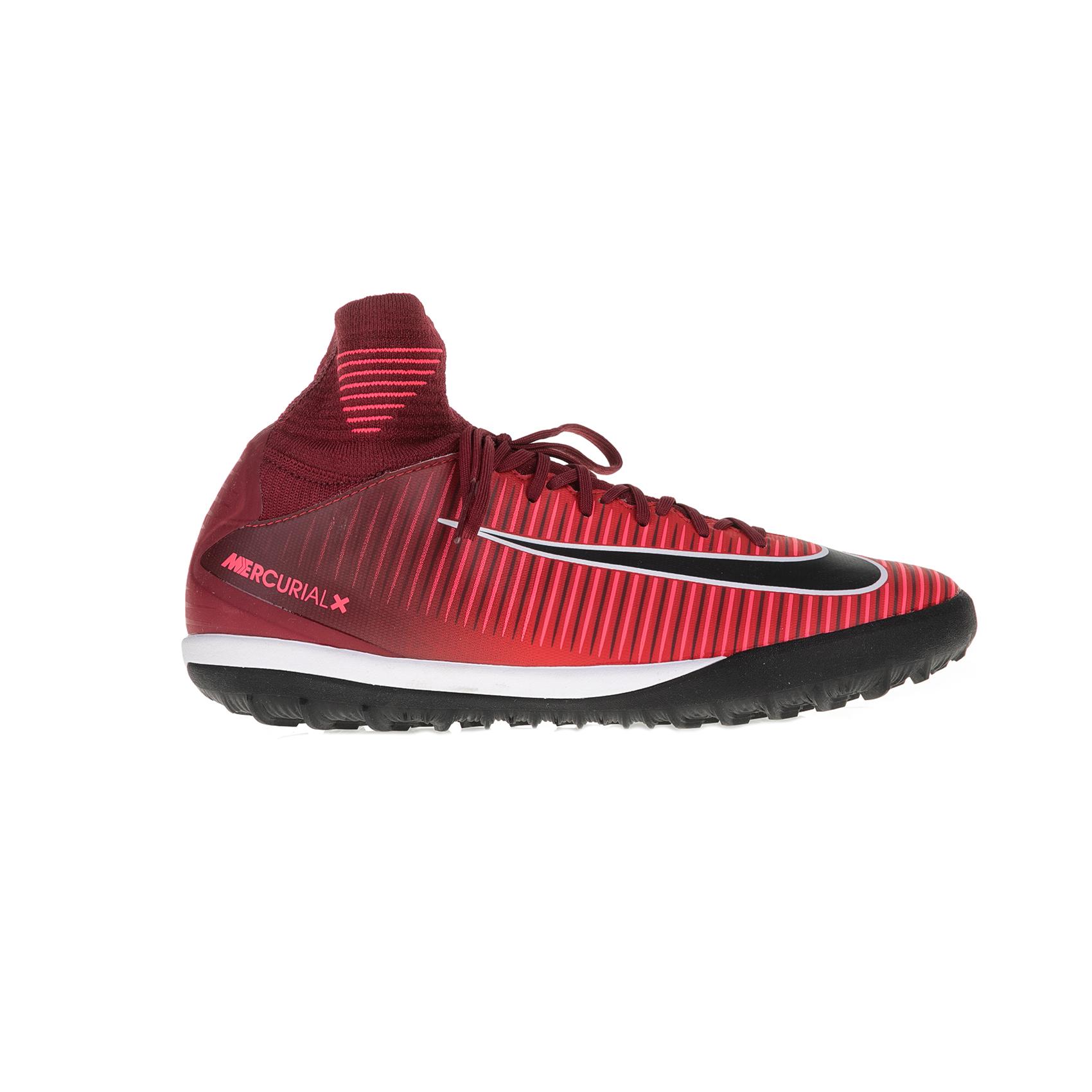 NIKE - Παιδικά παπούτσια ποδοσφαίρου Nike JR MERCURIALX PROXIMO II DF TF κόκκινα παιδικά boys παπούτσια αθλητικά