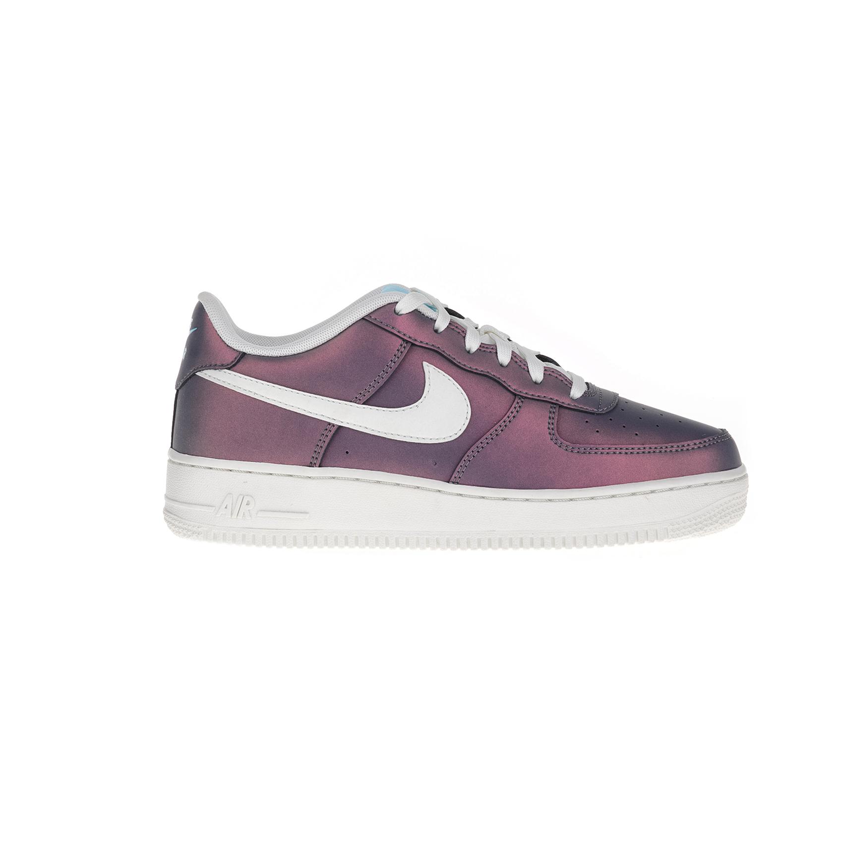 NIKE – Αγορίστικα παπούτσια AIR FORCE 1 LV8 (GS) μοβ