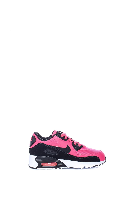 NIKE – Παιδικά κοριτσίστικα αθλητικά παπούτσια Nike AIR MAX 90 MESH (PS) ροζ-μαύρα