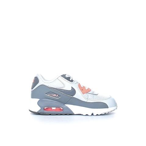 Κοριτσίστικα αθλητικά παπούτσια NIKE AIR MAX 90 MESH (PS) γκρι-λευκά  (1458682.1-y288)  6b45abaeeca