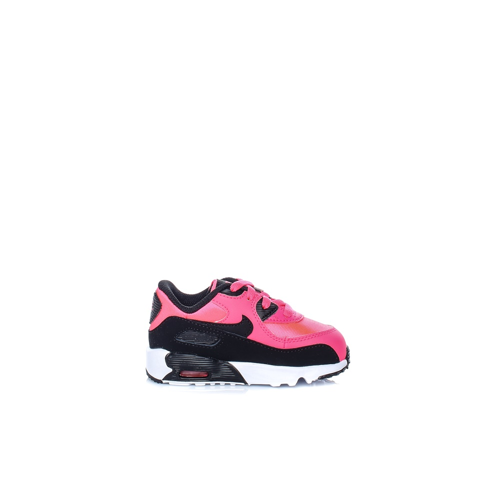 NIKE – Βρεφικά παπούτσια Nike AIR MAX 90 MESH (TD) μαύρα – ροζ