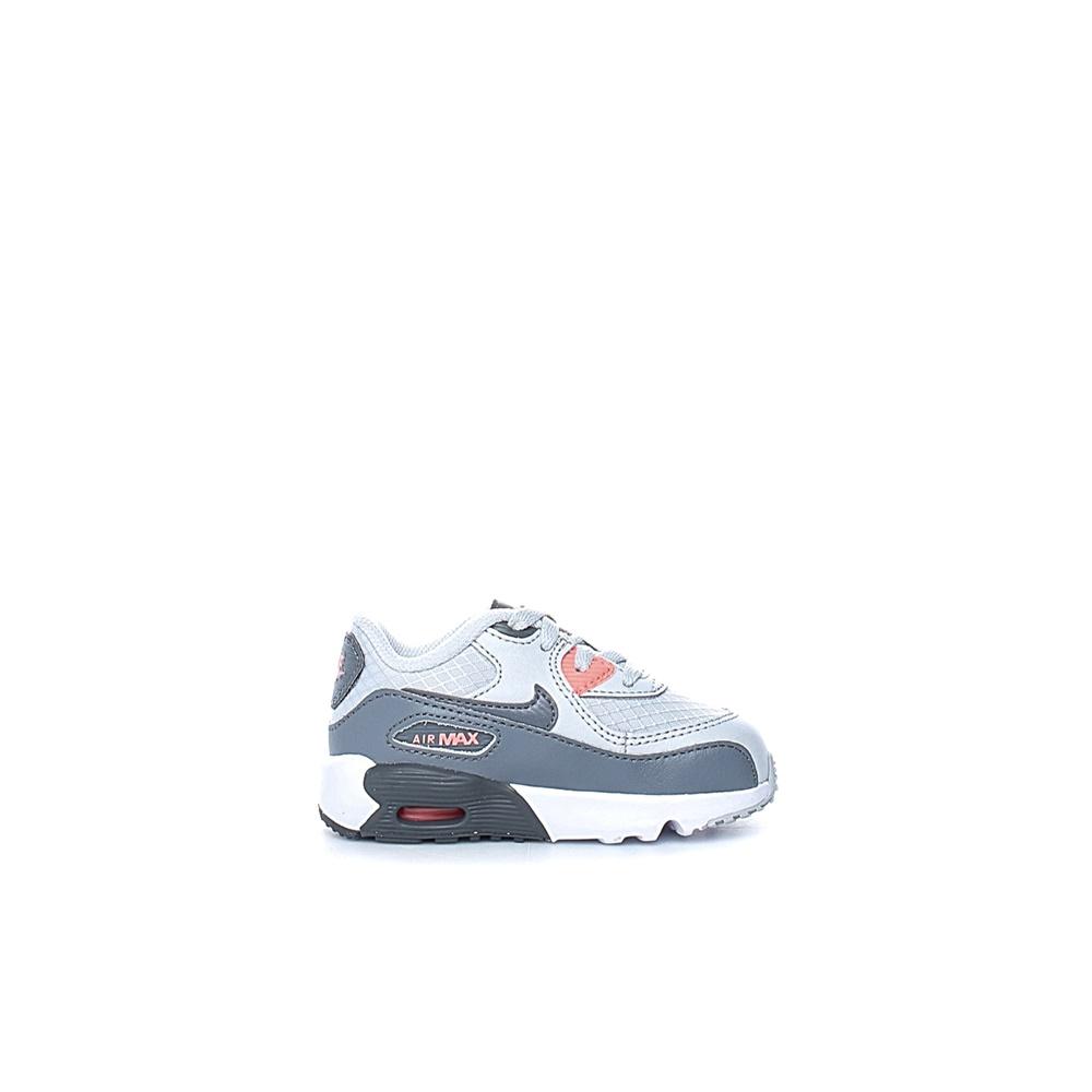 f0a532e2ed3 NIKE – Βρεφικά αθλητικά παπούτσια NIKE AIR MAX 90 MESH (PS) λευκά-γκρι