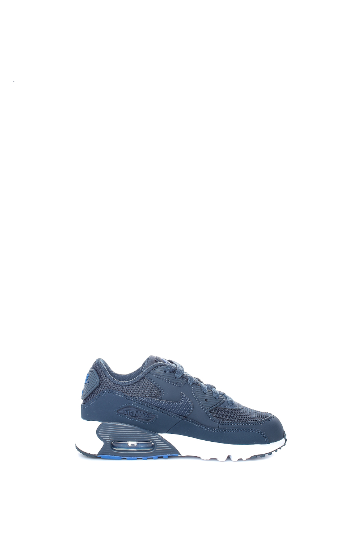 NIKE – Παιδικά αγορίστικα αθλητικά παπούτσια Nike AIR MAX 90 MESH (PS) μπλε σκούρο