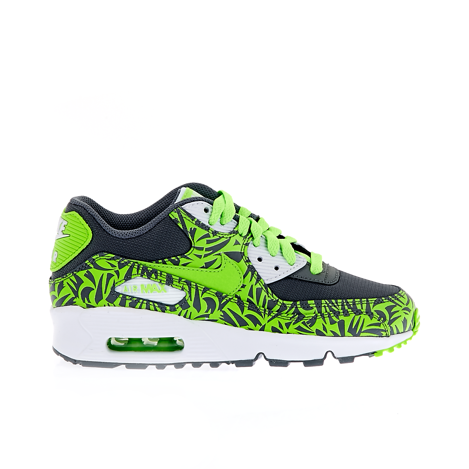 3c8521d3c8ae NIKE - Παιδικά παπούτσια NIKE AIR MAX 90 LTR (GS) άσπρα-μπλε - Αθλητικά