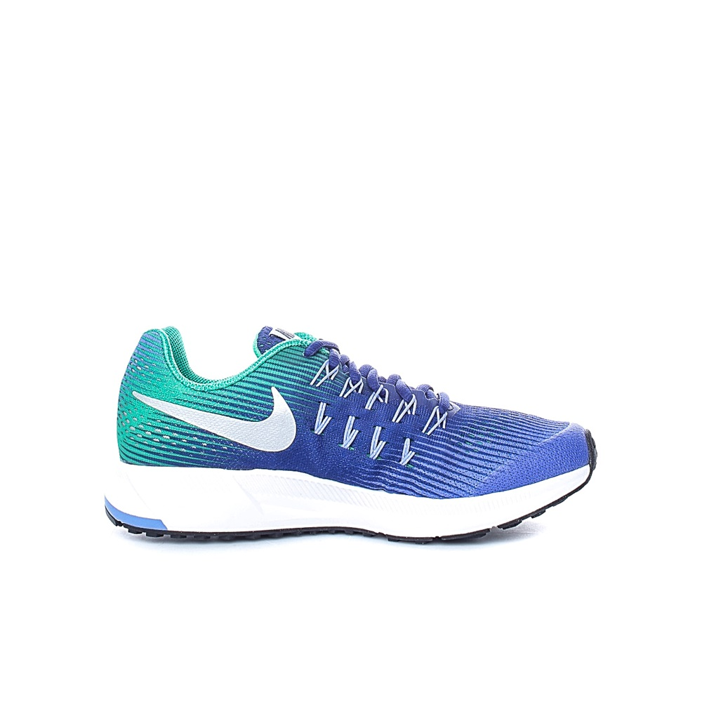NIKE - Παιδικά αθλητικά παπούτσια NIKE ZOOM PEGASUS 33 (GS) πράσινα - μοβ