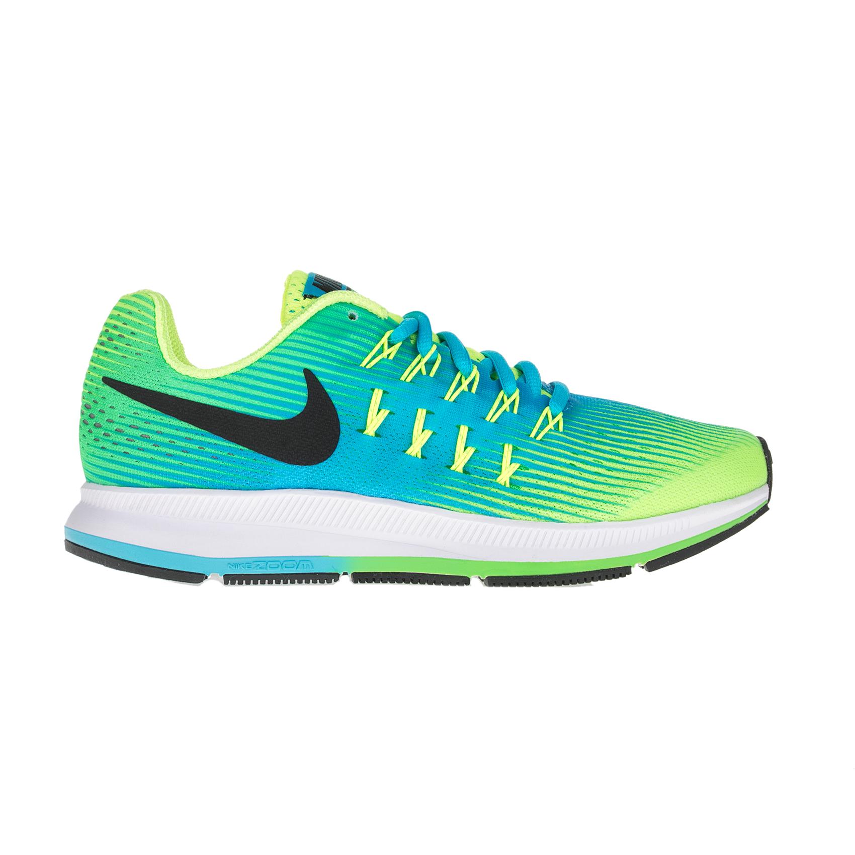 NIKE - Παιδικά αθλητικά παπούτσια NIKE ZOOM PEGASUS 33 (GS) πράσινα - κίτρινα