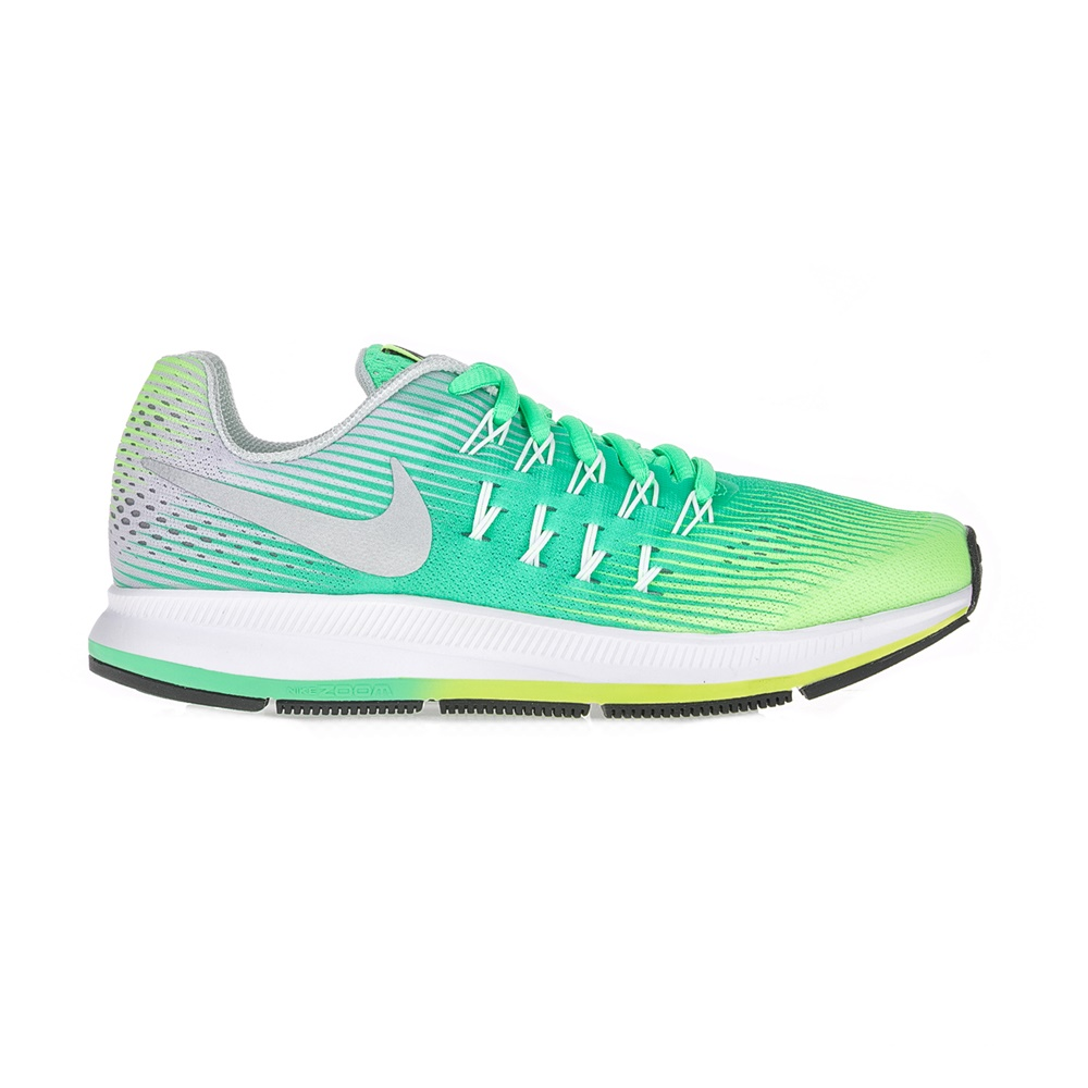 NIKE – Παιδικά αθλητικά παπούτσια NIKE ZOOM PEGASUS 33 (GS) πράσινα