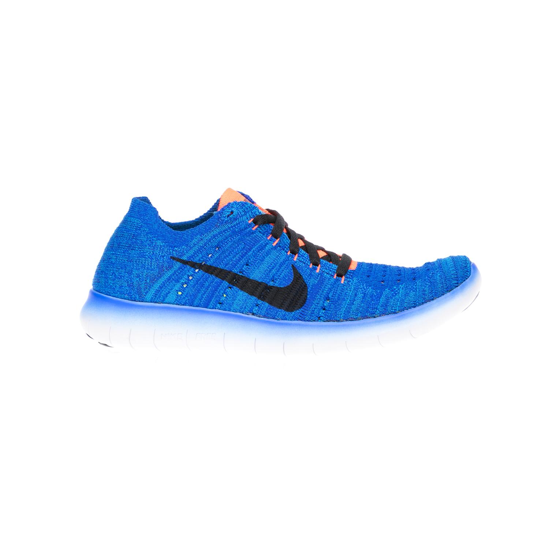 NIKE – Παιδικά παπούτσια NIKE FREE RN FLYKNIT (GS) μπλε