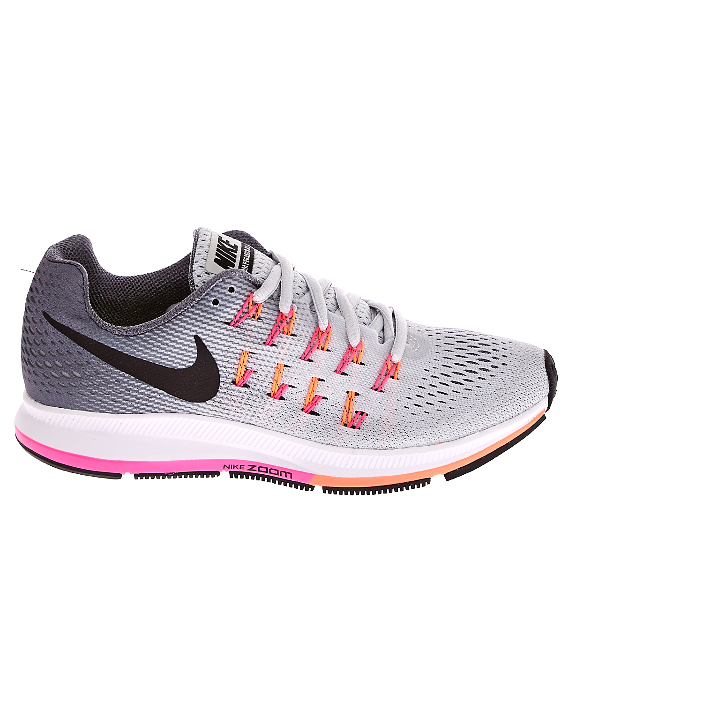 NIKE – Γυναικεία αθλητικά παπούτσια NIKE AIR ZOOM PEGASUS 33 γκρι.  Factoryoutlet f6f0a0001ce