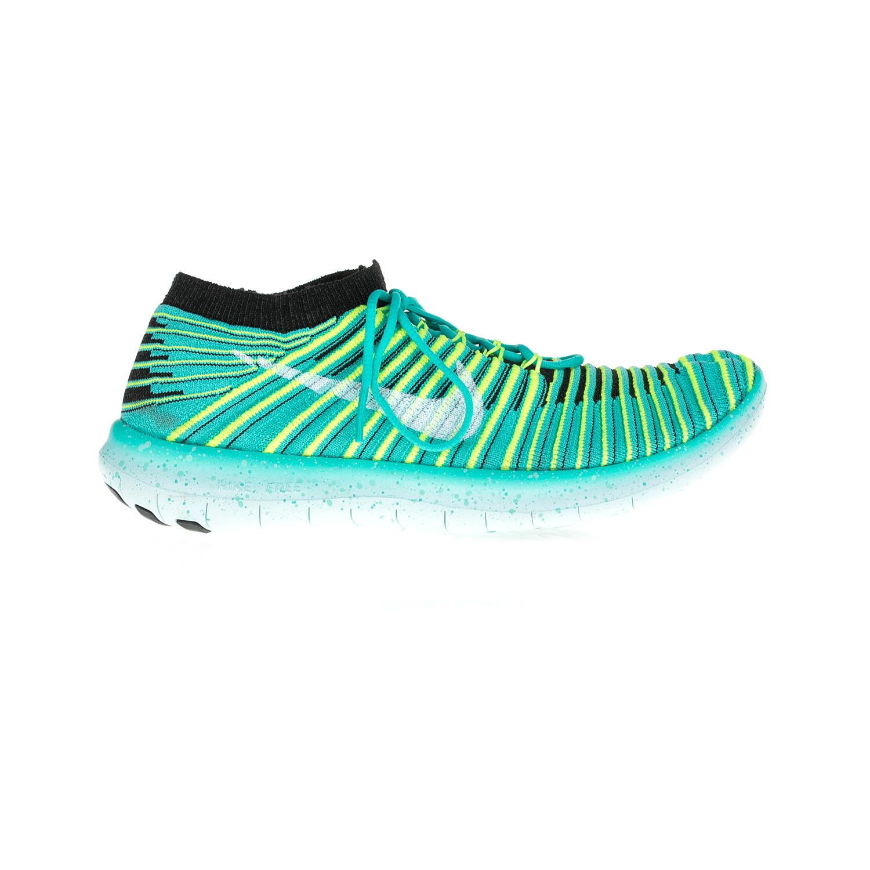 NIKE – Γυναικεία παπούτσια NIKE FREE RN MOTION FLYKNIT πράσινα