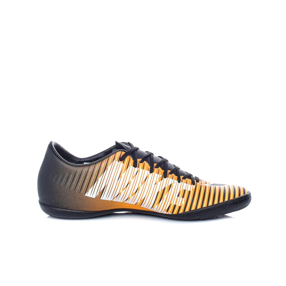 NIKE – Ανδρικά αθλητικά παπούτσια ποδοσφαίρου Nike MERCURIALX VICTORY VI IC μαύρα-πορτοκαλί