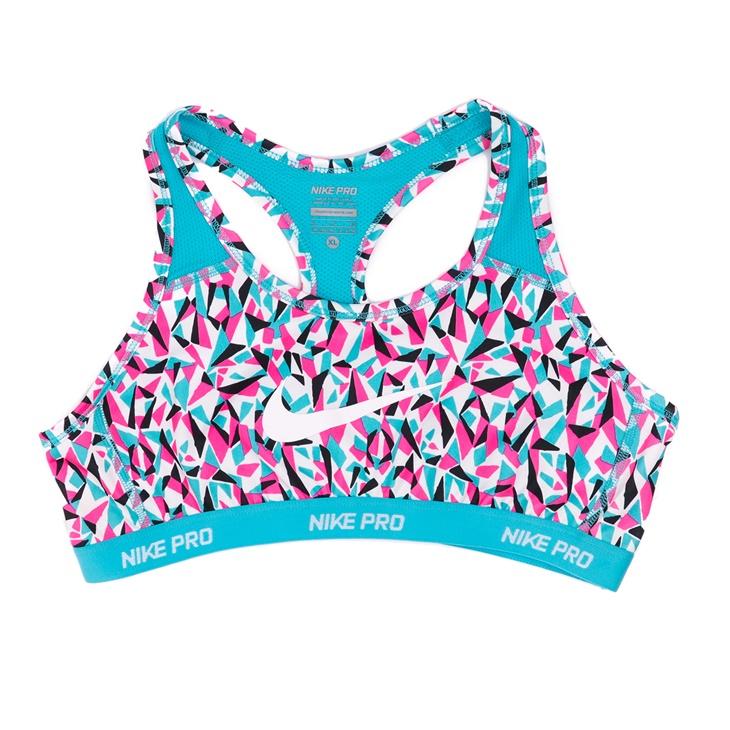 052701776de4 Κοριτσίστικο αθλητικό μπουστάκια Nike πολύχρωμο μοτίβο (1459430.1 ...