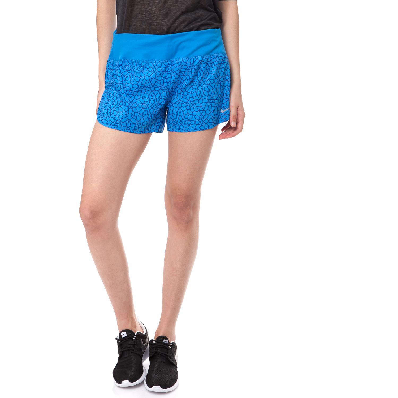 NIKE - Γυναικείο σορτς ΝΙΚΕ μπλε γυναικεία ρούχα σορτς βερμούδες αθλητικά