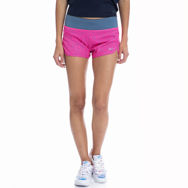NIKE - Γυναικείο σορτς NIKE ροζ γυναικεία ρούχα σορτς βερμούδες αθλητικά