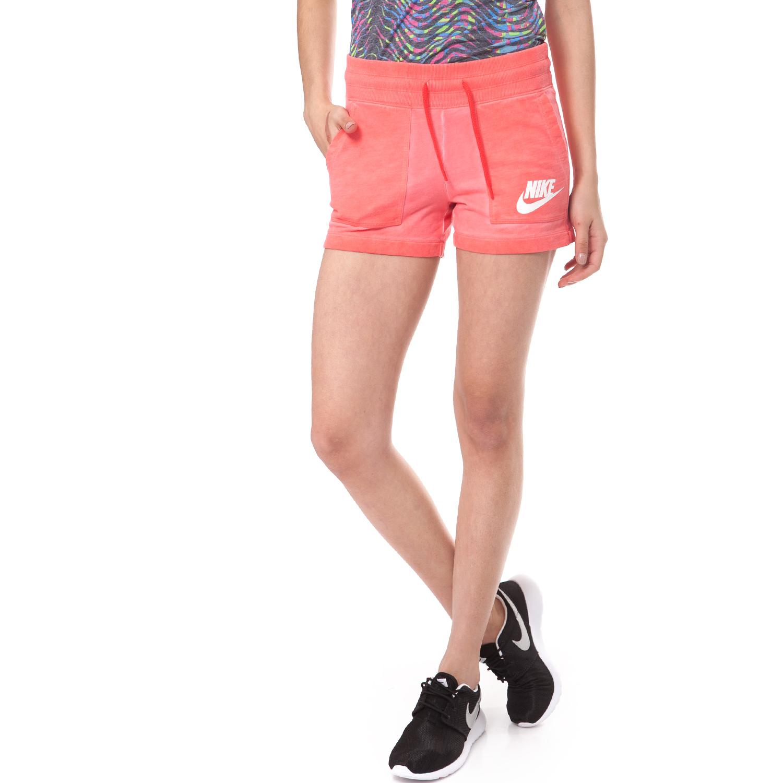 NIKE - Γυναικείο σορτσάκι NIKE SHORT-WASH ροζ γυναικεία ρούχα σορτς βερμούδες αθλητικά