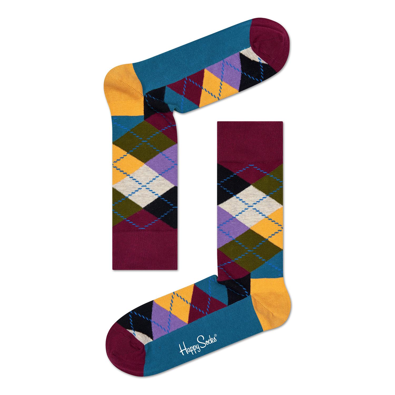 HAPPY SOCKS – Unisex κάλτσες HAPPY SOCKS μπορντό-μπλε 49352cb07c1