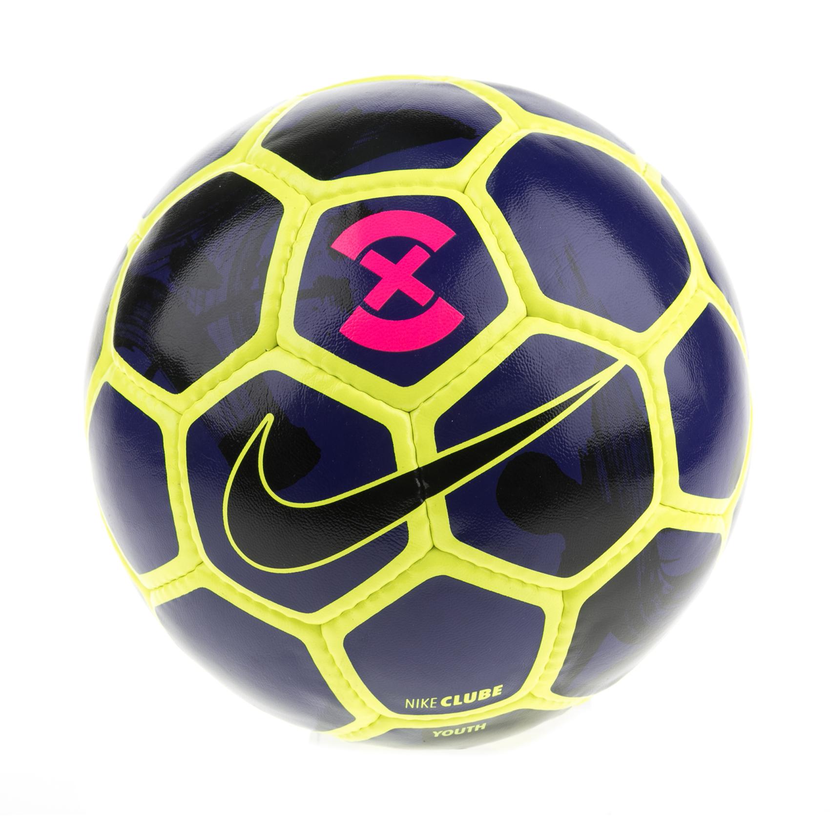 NIKE - Μπάλα ποδοσφαίρου NIKE FOOTBALLX CLUBE μπλε-κίτρινη γυναικεία αξεσουάρ αθλητικά είδη μπάλες
