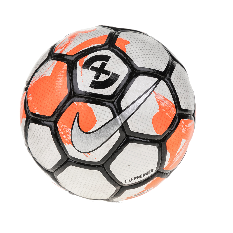 NIKE - Μπάλα ποδοσφαίρου NIKE FOOTBALLX PREMIER λευκή-πορτοκαλί γυναικεία αξεσουάρ αθλητικά είδη μπάλες