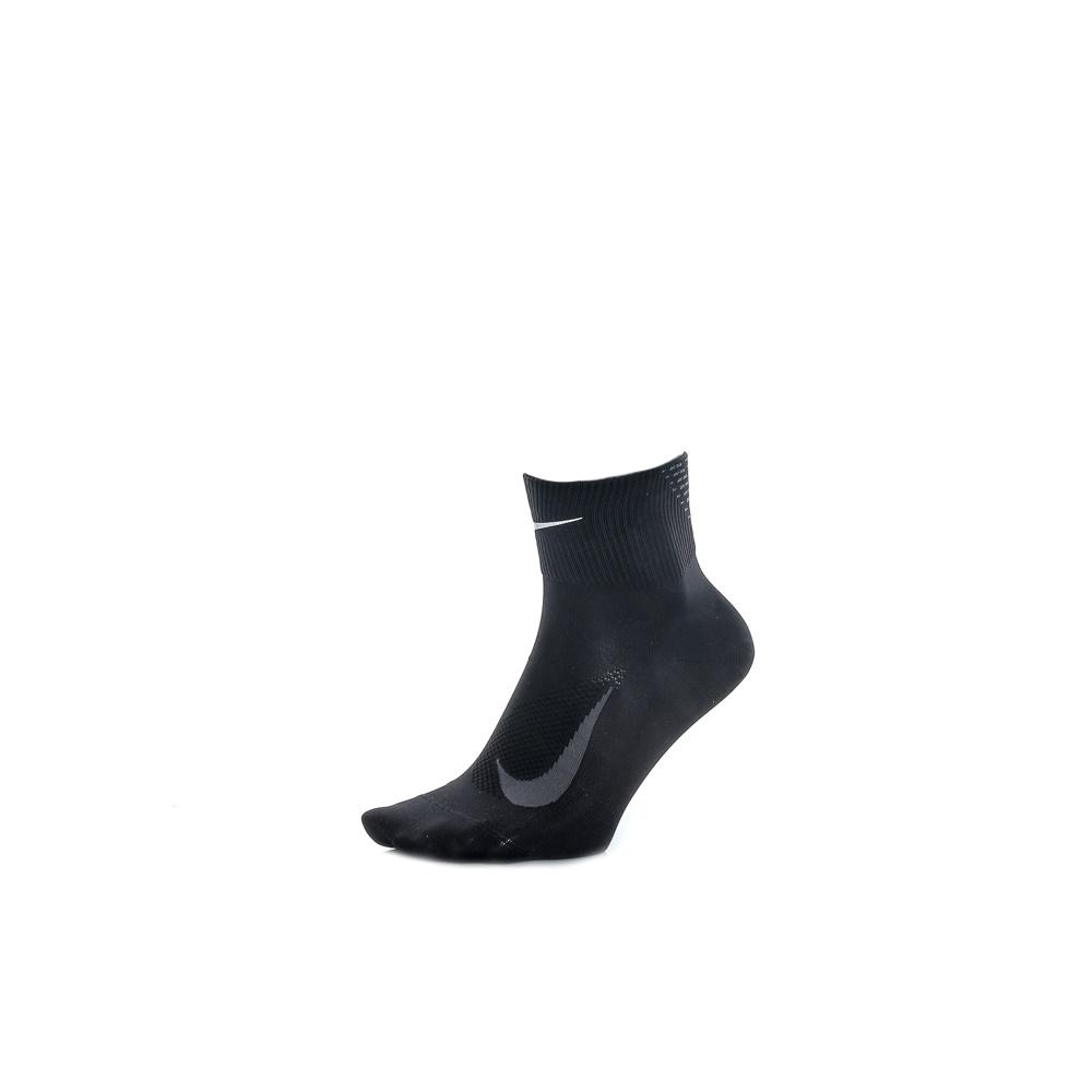 NIKE - Unisex κάλτσες για τρέξιμο Nike ELITE LIGHTWEIGHT QUARTER μαύρες