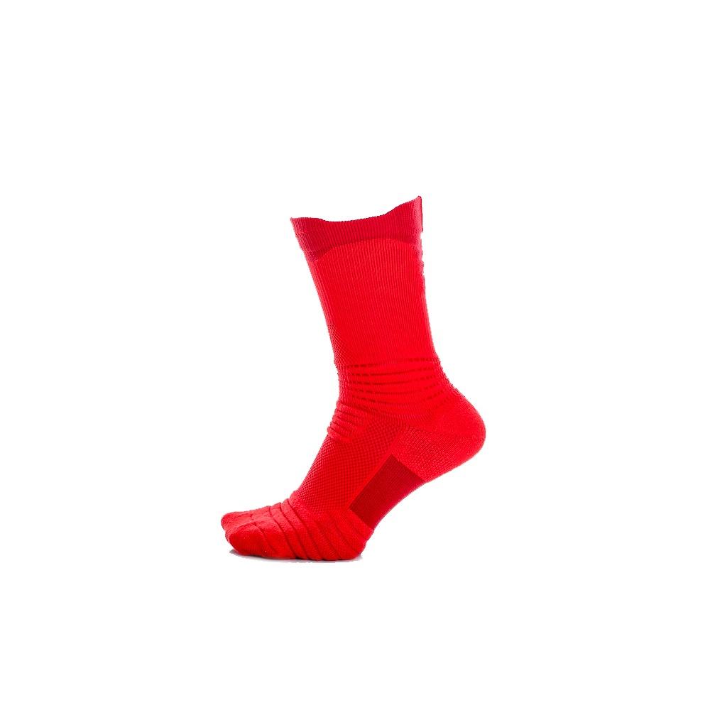 NIKE - Unisex κάλτσες μπάσκετ Nike LT VERSA CREW κόκκινες γυναικεία αξεσουάρ κάλτσες