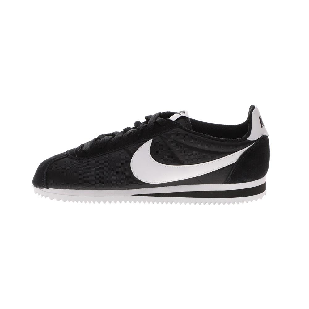 NIKE – Ανδρικά αθλητικά παπούτσια NIKE CLASSIC CORTEZ NYLON μαύρα λευκά