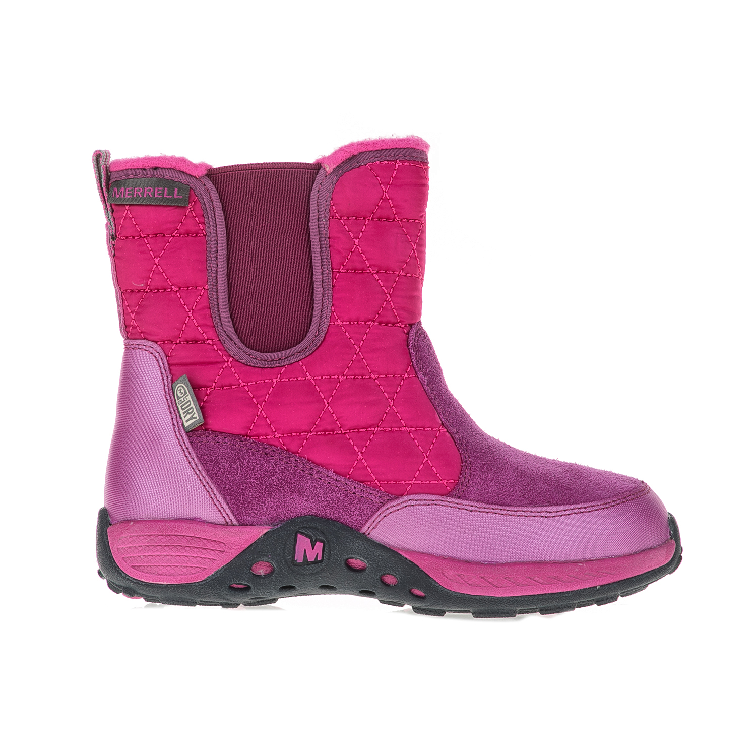MERRELL – Παιδικά μποτάκια Jungle Moc Quilted Boot φούξια