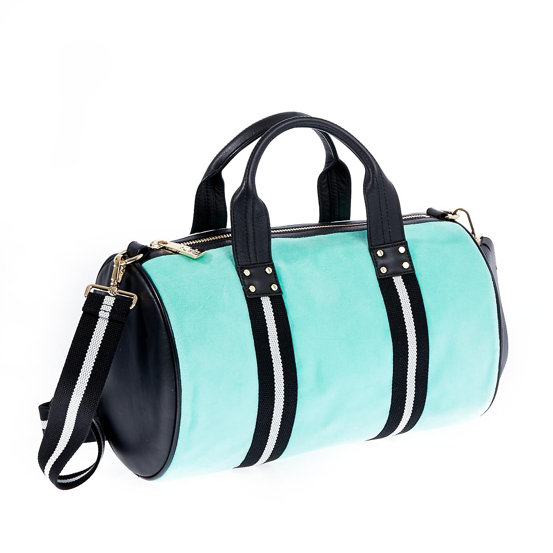 JUICY COUTURE - Γυναικεία τσάντα Juicy Couture μπλε-μαύρη γυναικεία αξεσουάρ τσάντες σακίδια χειρός