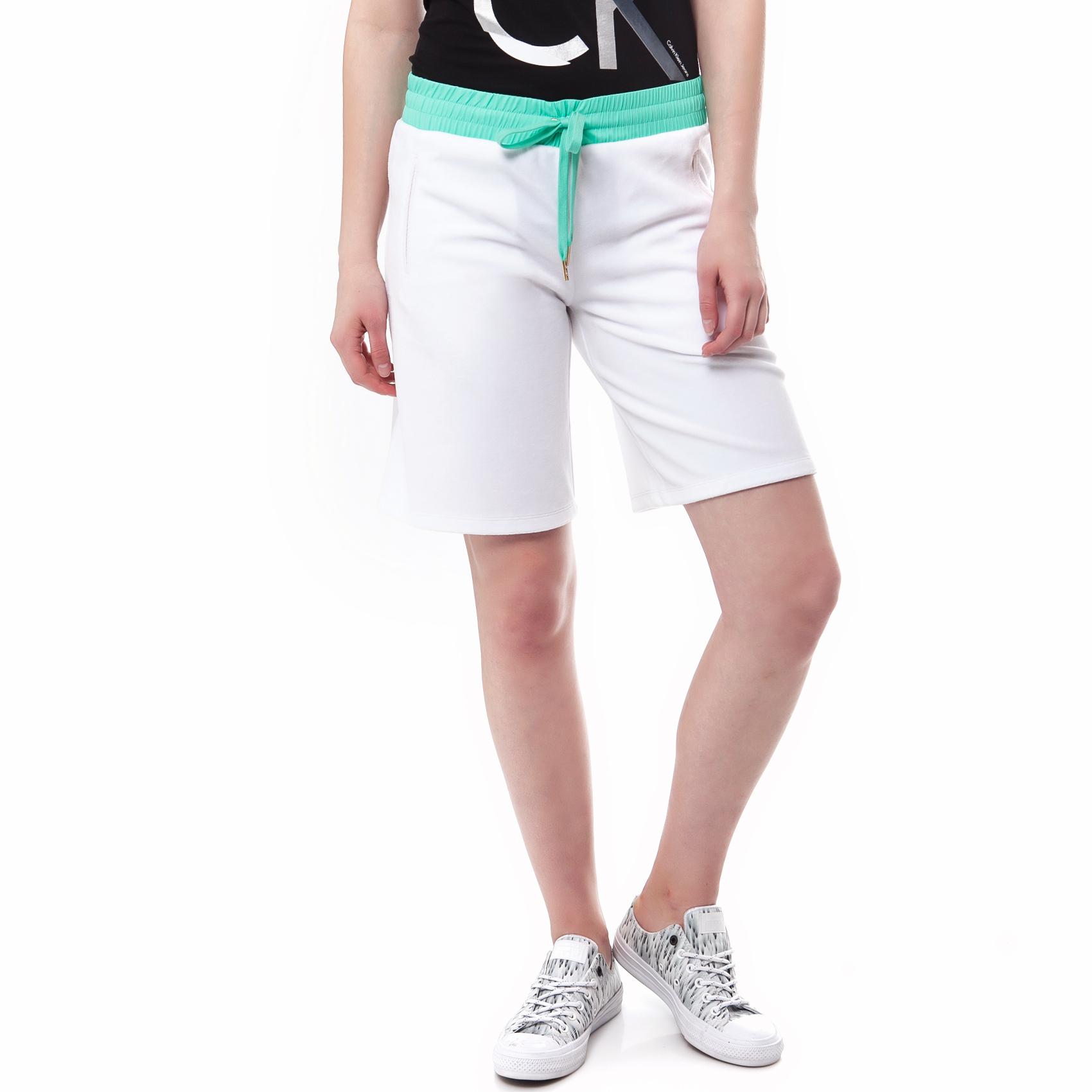 JUICY COUTURE - Γυναικεία βερμούδα Juicy Couture λευκή