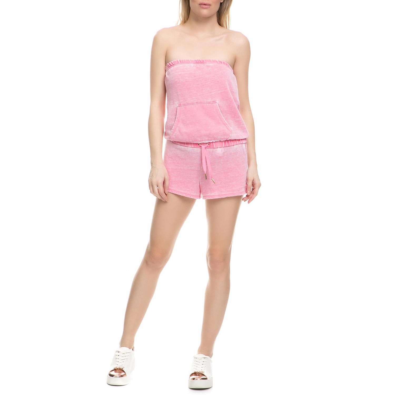 f5495af5dc JUICY COUTURE - Γυναικείο ολόσωμο στράπλες σορτς Juicy Couture ροζ