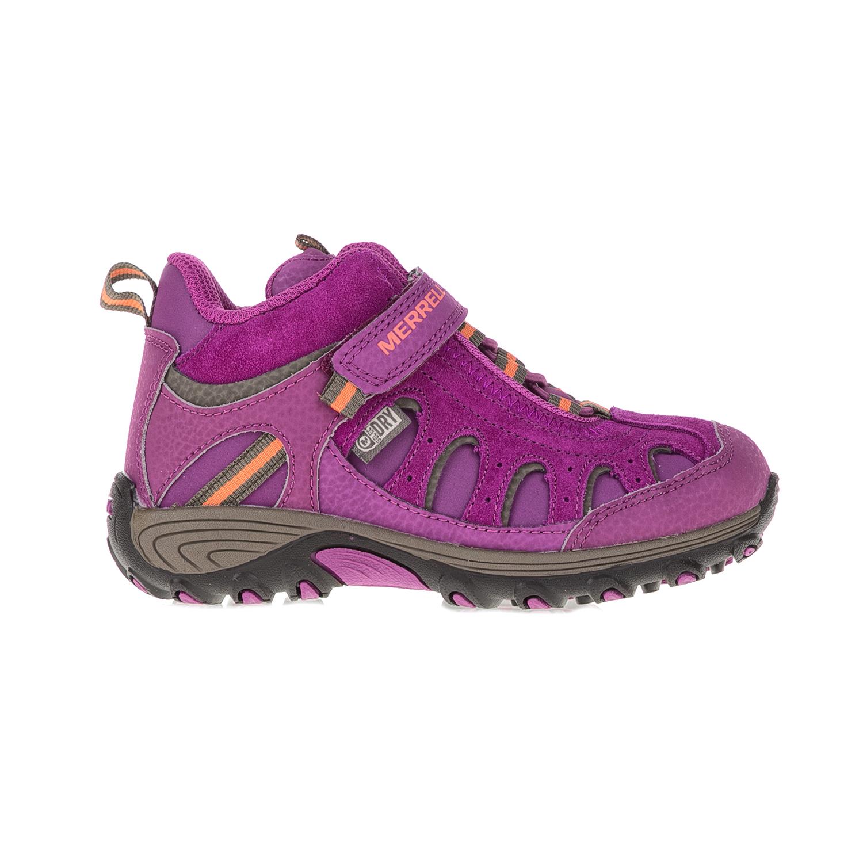 MERRELL – Παιδικά παπούτσια Chameleon Mid Trek μοβ