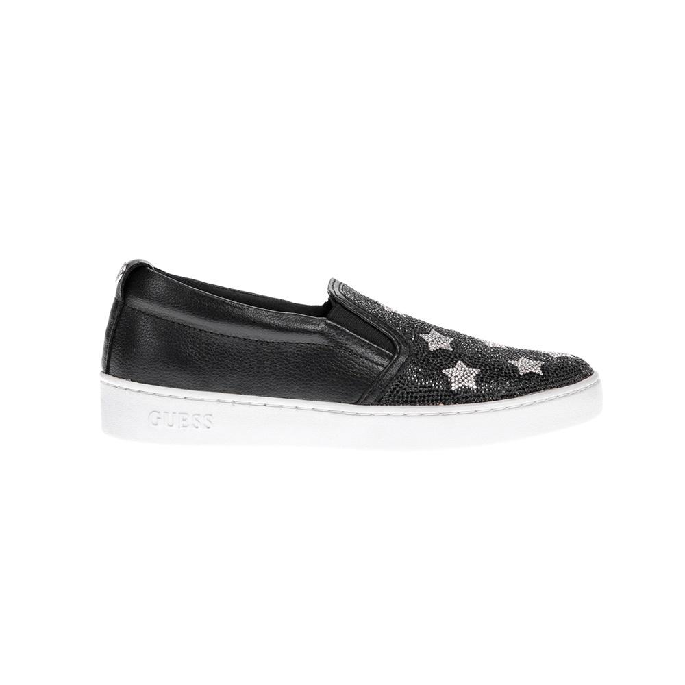 GUESS - Γυναικεία slip-on παπούτσια GUESS μαύρα