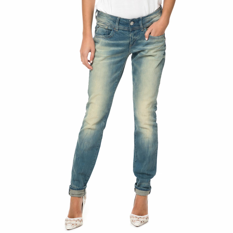 G-STAR RAW – Γυναικείο τζιν παντελόνι G-STAR RAW Lynn Mid Skinny μπλε 2c5922c375b
