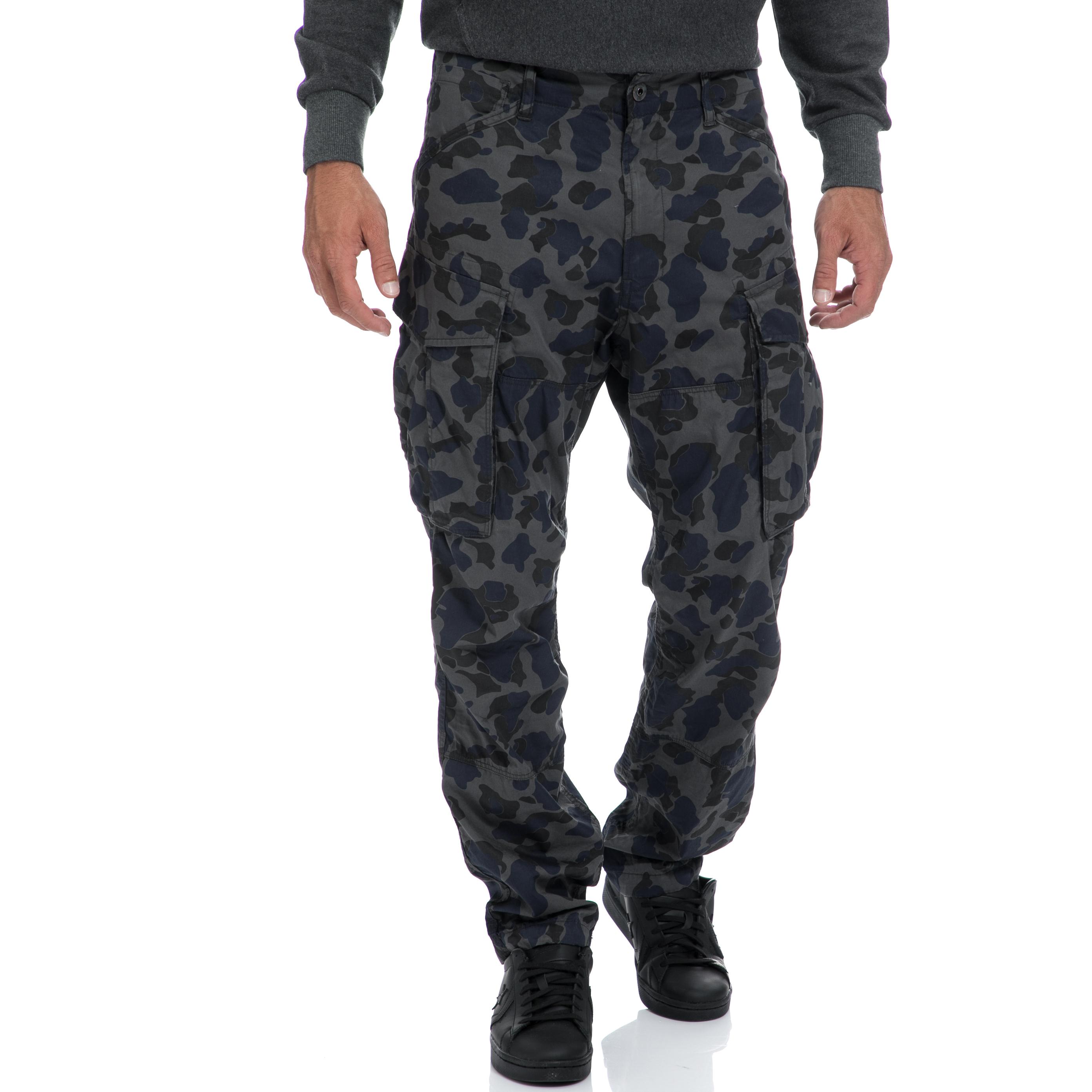 G-STAR RAW - Αντρικό παντελόνι G-STAR RAW γκρι ανδρικά ρούχα παντελόνια cargo