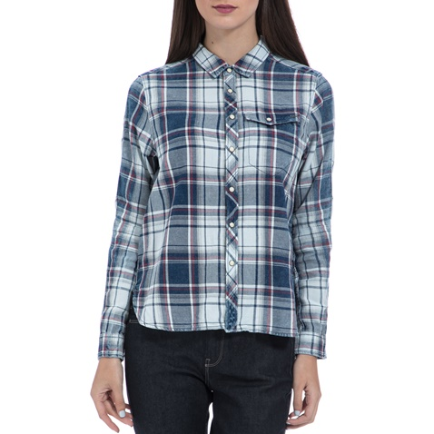 Γυναικείο πουκάμισο G-STAR RAW καρό (1465746.0-12q1)  d16110bf04b